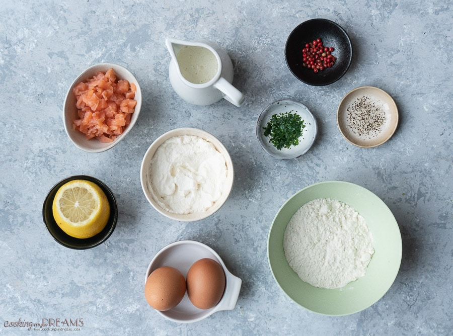 list of ingredients to make ravioli