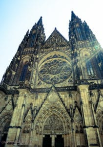 3 Days in Prague - St. Vitus cathedral