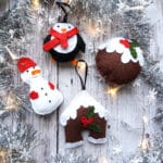 DIY Christmas Felt Ornaments